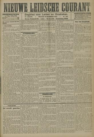 Nieuwe Leidsche Courant 1923-11-16