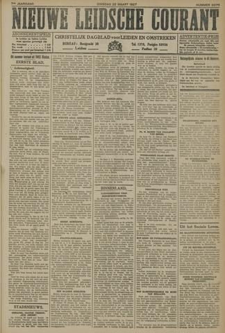 Nieuwe Leidsche Courant 1927-03-22