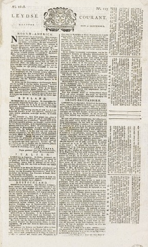 Leydse Courant 1818-09-21