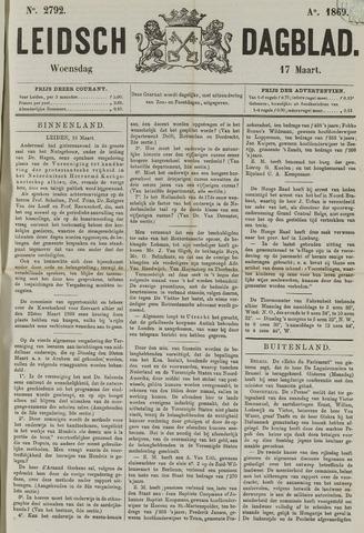Leidsch Dagblad 1869-03-17