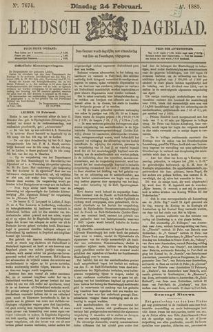 Leidsch Dagblad 1885-02-24