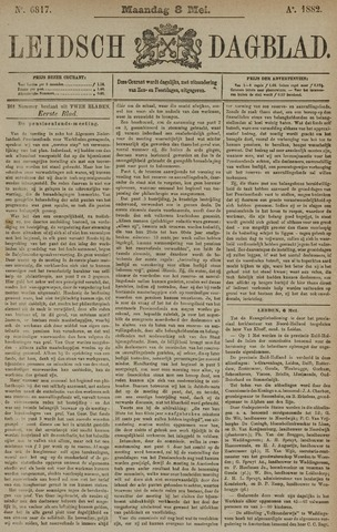 Leidsch Dagblad 1882-05-08