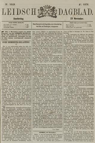Leidsch Dagblad 1876-11-23