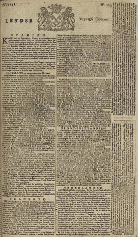 Leydse Courant 1758-10-13