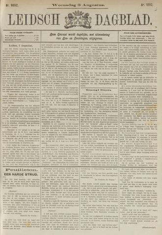 Leidsch Dagblad 1892-08-03