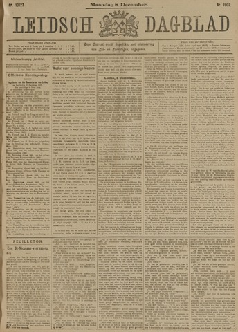 Leidsch Dagblad 1902-12-08