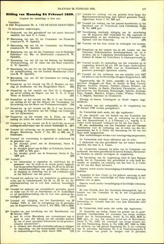 Handelingen van de Raad 1930-02-24
