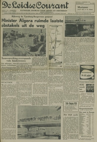 Leidse Courant 1958-02-11