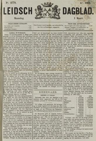 Leidsch Dagblad 1869-03-01