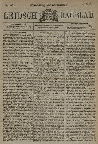 Leidsch Dagblad 1880-12-29
