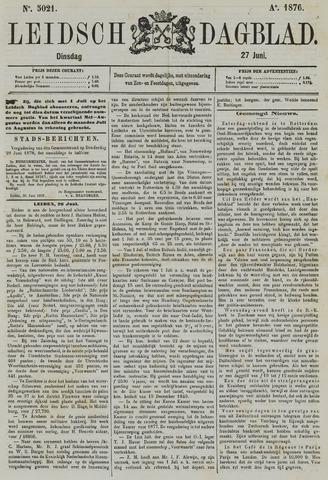 Leidsch Dagblad 1876-06-27