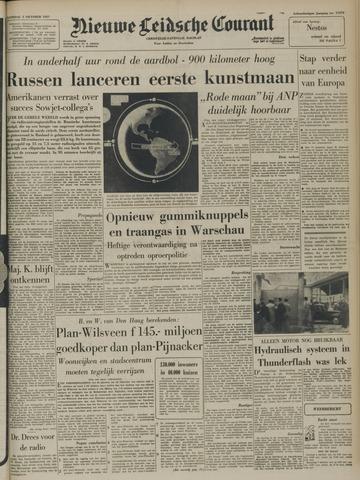 Nieuwe Leidsche Courant 1957-10-05