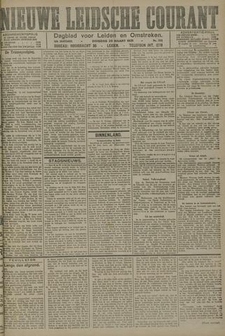 Nieuwe Leidsche Courant 1921-03-29