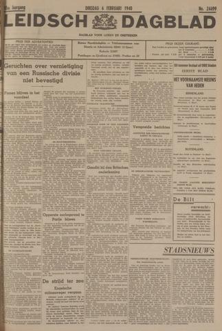 Leidsch Dagblad 1940-02-06