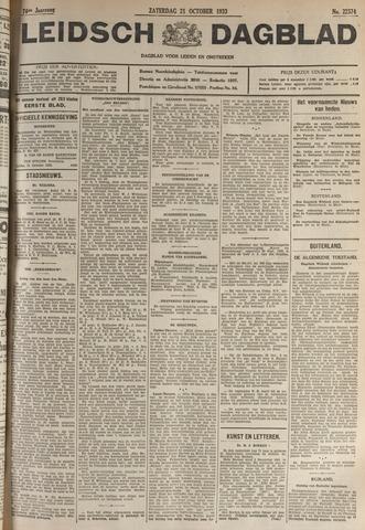 Leidsch Dagblad 1933-10-21
