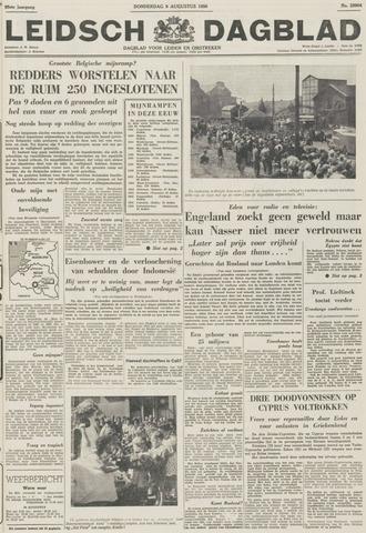 Leidsch Dagblad 1956-08-09