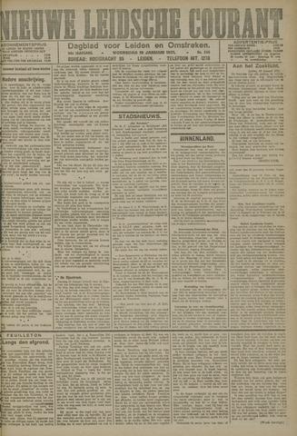 Nieuwe Leidsche Courant 1921-01-19