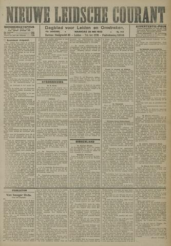 Nieuwe Leidsche Courant 1923-05-28