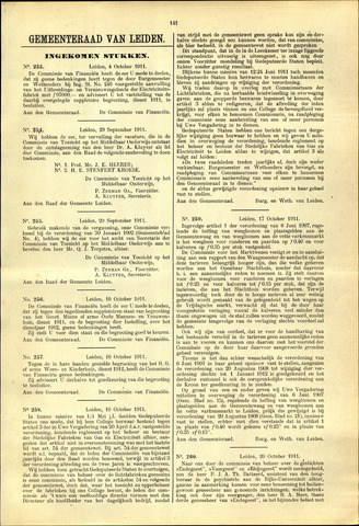 Handelingen van de Raad 1911-10-04