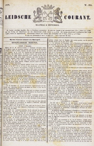 Leydse Courant 1879-09-08