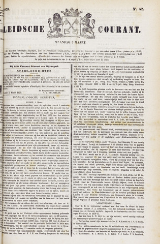 Leydse Courant 1879-03-03