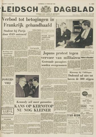 Leidsch Dagblad 1962-02-10
