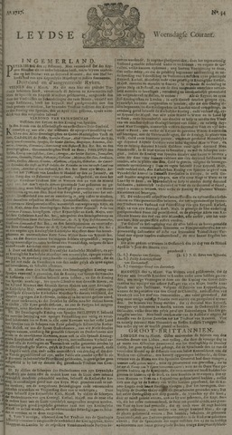 Leydse Courant 1727-03-19