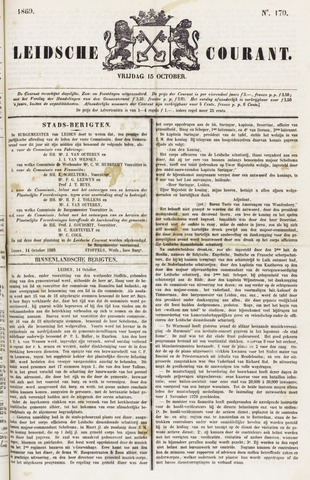 Leydse Courant 1869-10-15