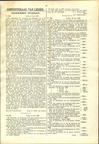 Handelingen van de Raad 1906-06-05