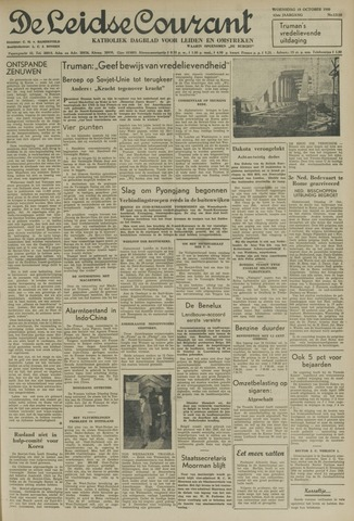 Leidse Courant 1950-10-18