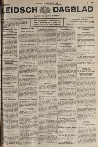 Leidsch Dagblad 1933-08-18