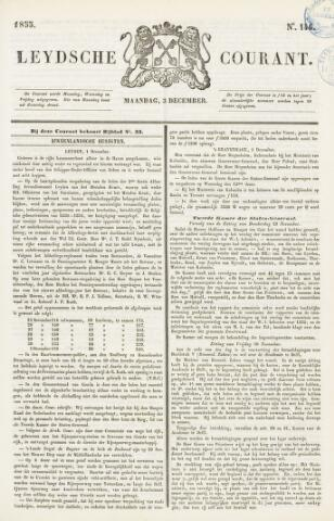 Leydse Courant 1855-12-03