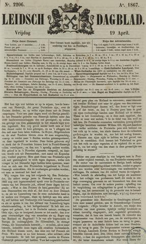 Leidsch Dagblad 1867-04-19