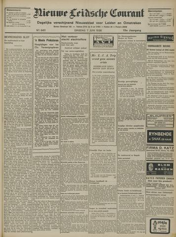 Nieuwe Leidsche Courant 1938-06-07
