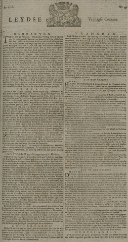 Leydse Courant 1728-04-26