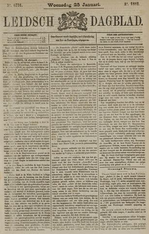 Leidsch Dagblad 1882-01-25