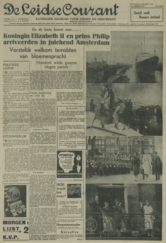 Leidse Courant 1958-03-25
