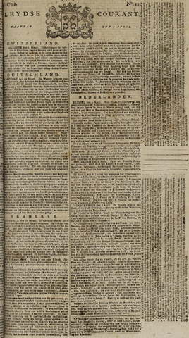 Leydse Courant 1794-04-07