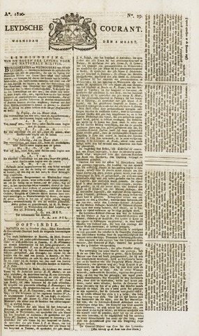 Leydse Courant 1826-03-08