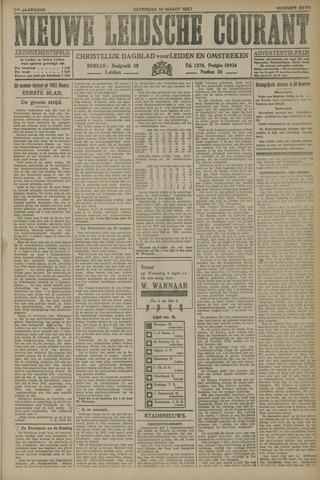 Nieuwe Leidsche Courant 1927-03-19