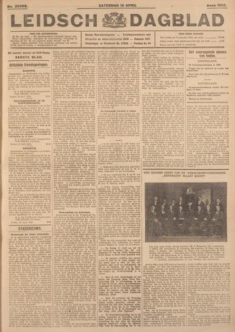 Leidsch Dagblad 1926-04-10