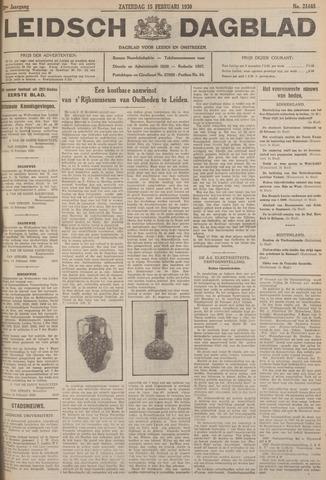 Leidsch Dagblad 1930-02-15