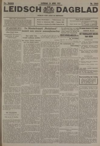 Leidsch Dagblad 1937-04-24