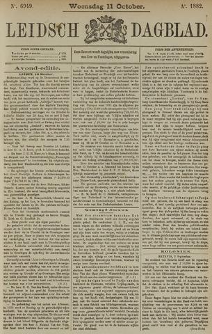Leidsch Dagblad 1882-10-11