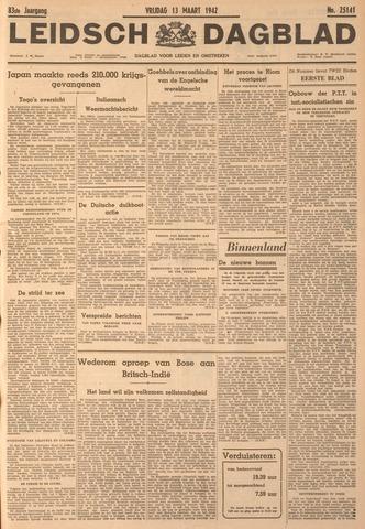 Leidsch Dagblad 1942-03-13