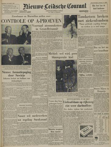 Nieuwe Leidsche Courant 1957-03-25