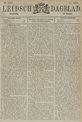 Leidsch Dagblad 1878-10-24