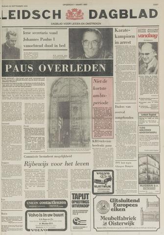 Leidsch Dagblad 1978-09-29