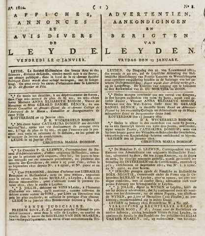 Leydse Courant 1812-01-17
