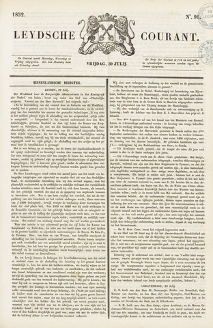 Leydse Courant 1852-07-30